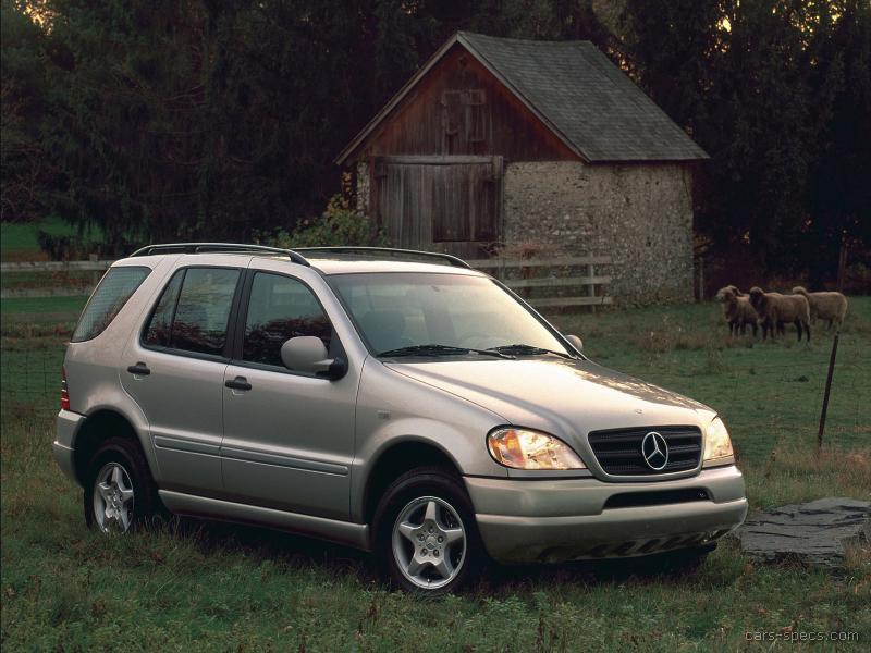 1999 Mercedes Benz M Class Suv Specifications Pictures