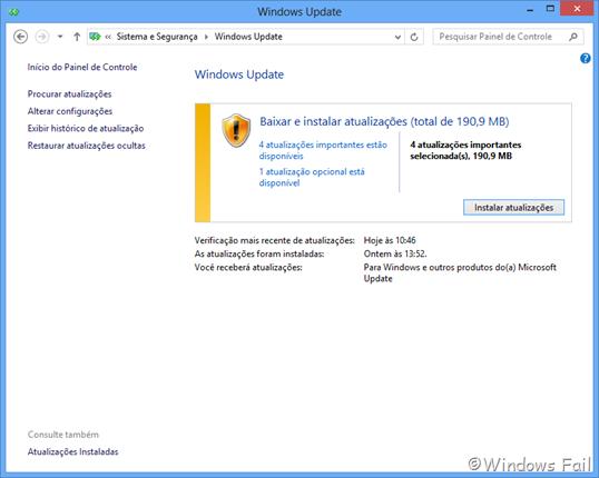 Antigo Windows Update