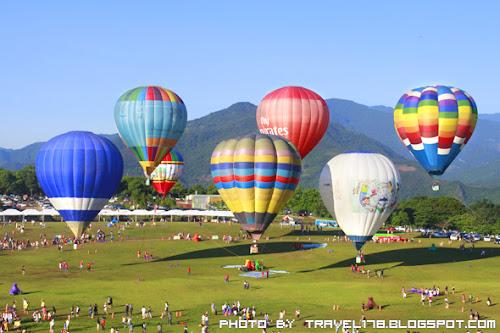 台東鹿野高台熱氣球嘉年華