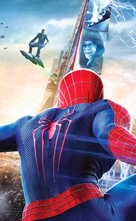A csodálatos pókember 2 bannerje poszterekre szedve 02