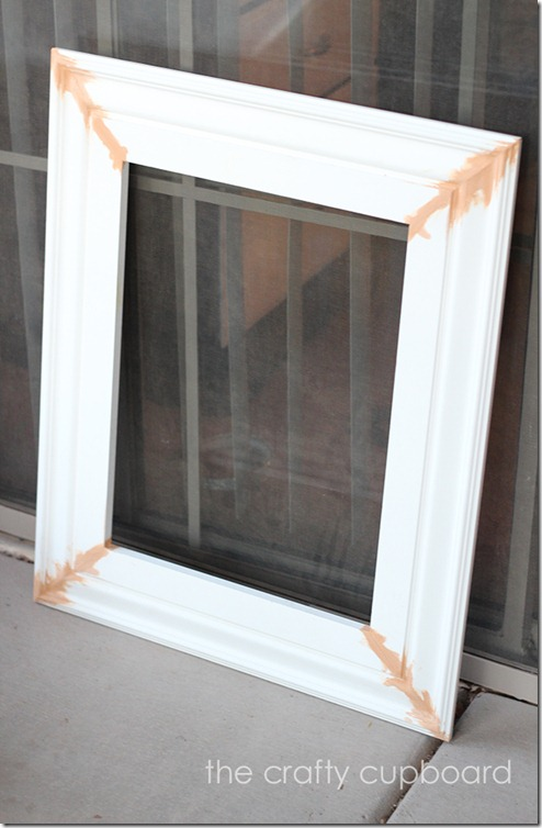 DIY frame wood filler