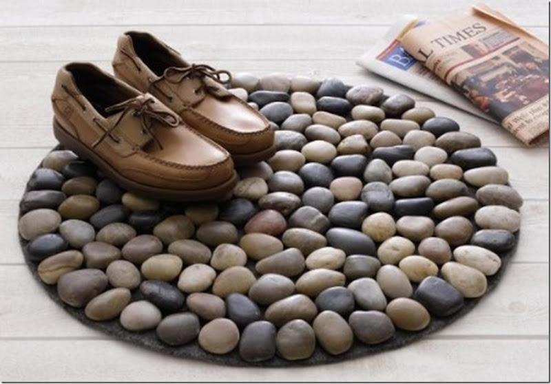 سجاد الحجارة للحمام
