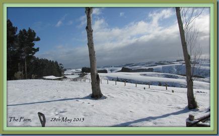 The Farm, 28th May framed