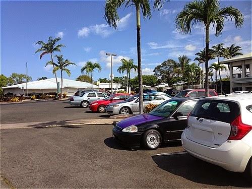 ハワイ島の車