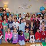 WBFJ Cici's Pizza Pledge - Clemmons Elementary School - Ms. Leopard's 2nd-3rd Class - 12-7-11