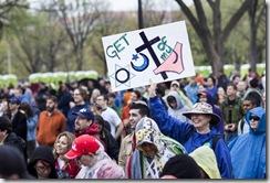 Марш атеистов 25 марта 2012 года