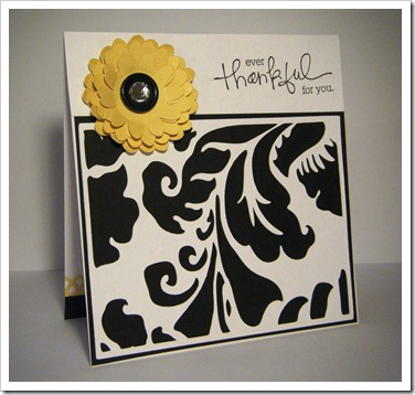 bw yellow flower card 1