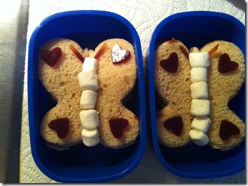 butterfly 2 bento
