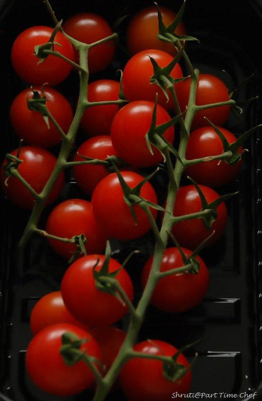 Pasta al Nepolitana Tomatoes