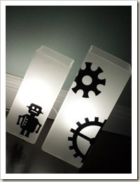 Sprockets Table Lamps
