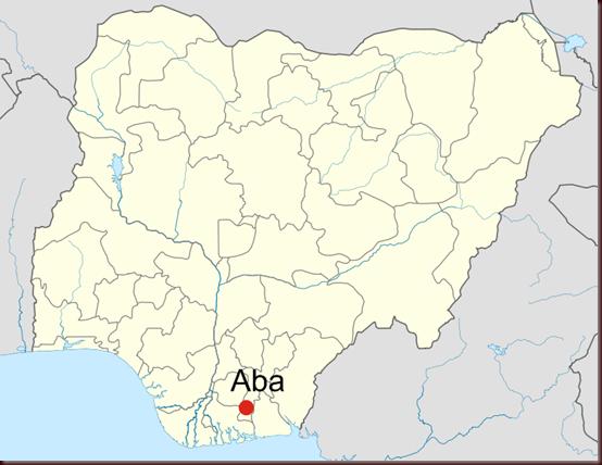 Aba_Nigeria_location_map