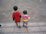 Kai and Eidan in Kagoshima City