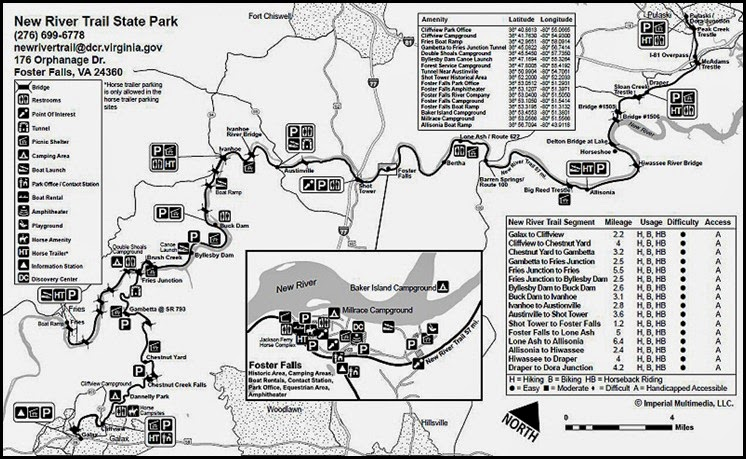 00 - New River Trail SP Map