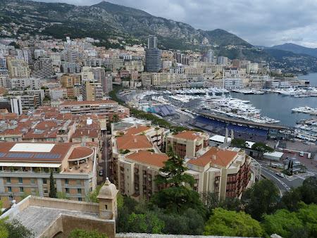 Obiective turistice Monaco - vedere panoramica