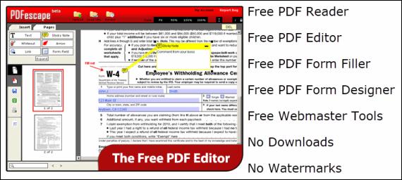 PDFescape.com
