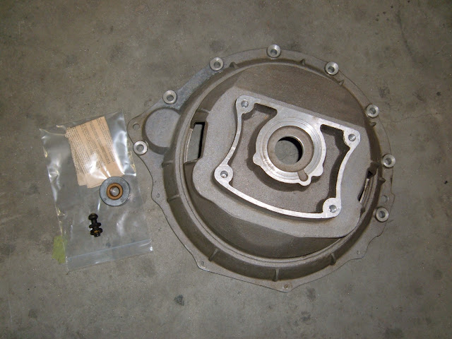 nos 264-322 bell housing adapter for a Jeep trans, one only 275.00