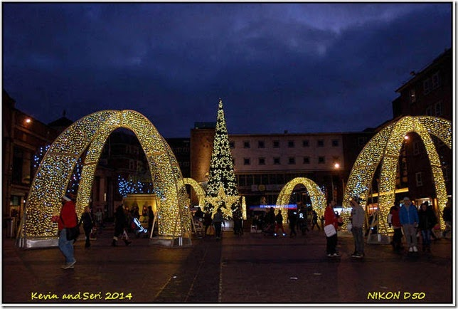 Christmas Decorations in Covenrty City Centre