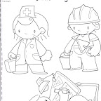Dibujo Dia del Trabajador 5