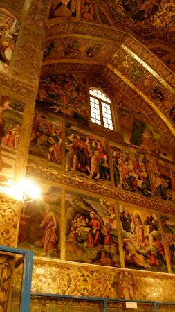 Vank Cathedral Isfahan murals