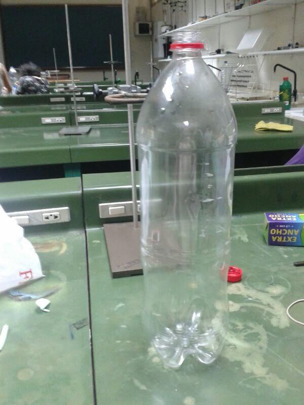 Instrumentos caseros de laboratorio fotos de la - Como fabricar un pluviometro ...