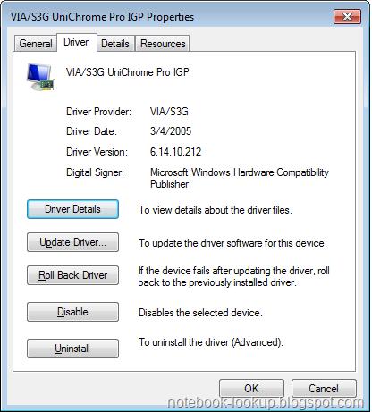 Unichrome igp update driver via pro s3g