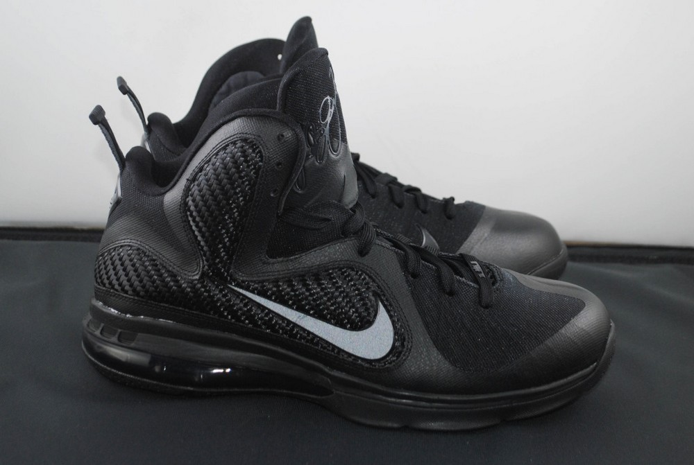 Nike LeBron 6 Blackout Sneakers (Black/Black-Anthracite)