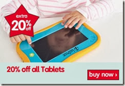 20% off tablets 28-11-2013