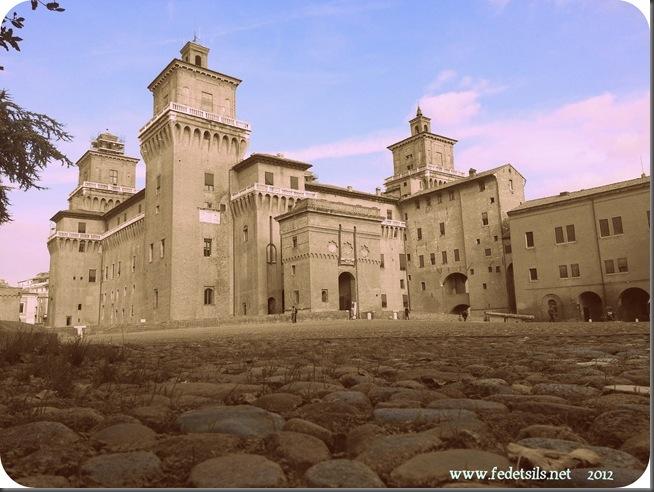 Veduta del Catello ( anni '60), Ferrara, Emilia Romagna, Italia - View of the Castle ( 1960 age ), Ferrara, Emilia Romagna, Italy - Property and Copyright of www.fedetails.net