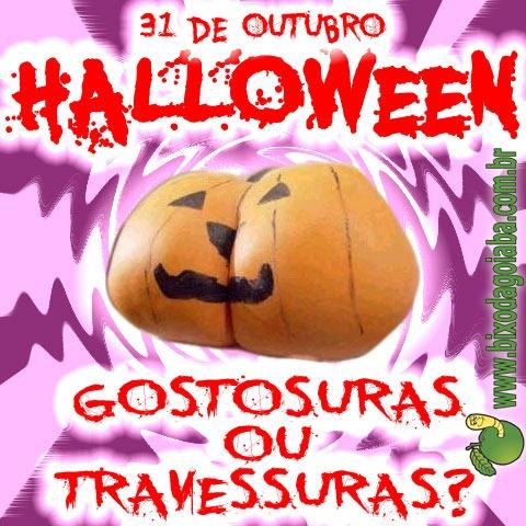 31 de outubro é Halloween (Dia das Bruxas): Gostosuras ou Travessuras?