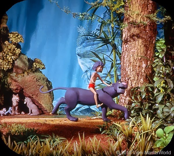 View-Master Jungle Book (B363): Scene 2