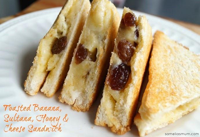 Toasted Banana Sandwich