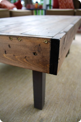 DIY wood table cover
