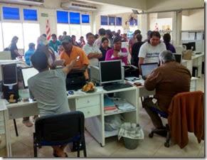 Alrededor de 100 ciudadanos pudieron llevar a cabo diversas gestiones ante el Viceconsulado de Bolivia