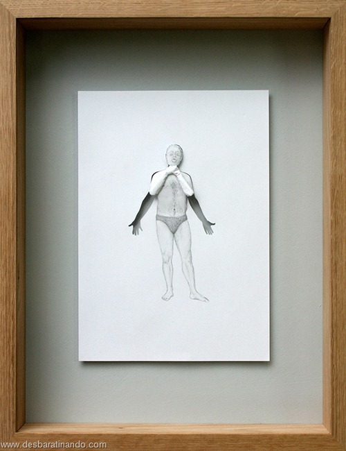 obras de arte em papel 3D origami Peter Callesen desbaratinando (35)