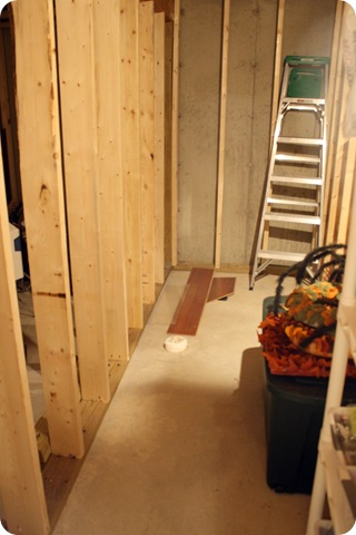 bathroom basement rough in