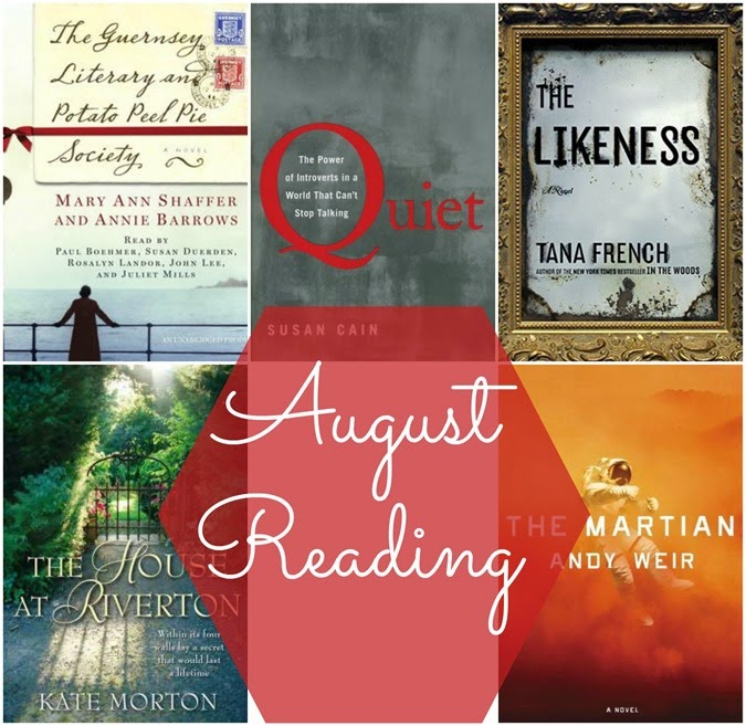 Quick reviews of the books I read in August // www.maybematilda.com