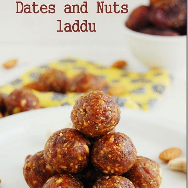 Dates and nuts laddu / dry fruits laddu