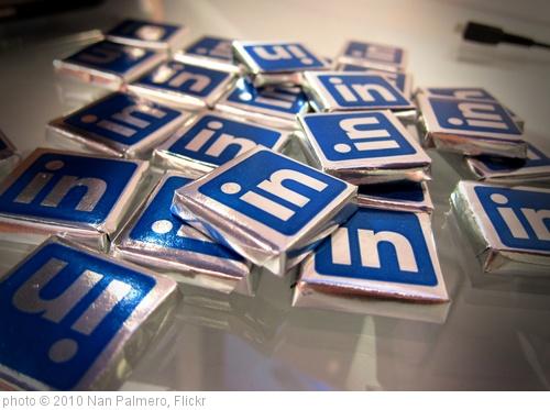 'Linkedin Chocolates' photo (c) 2010, Nan Palmero - license: http://creativecommons.org/licenses/by/2.0/