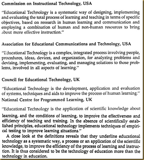 Educational Technology A Reflection Cybergogue