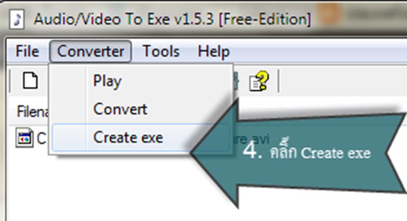 create exe