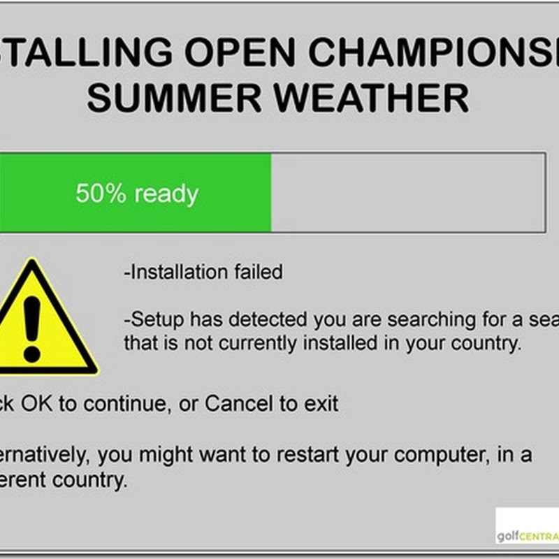 Excellent Free Open Championship Weather App Now Available To Download
