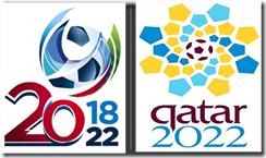 Copa russia 2018 e catar 2022