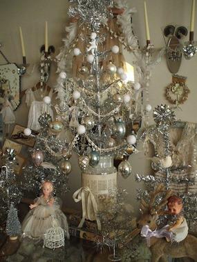 decorar en Navidad con estilo vintage