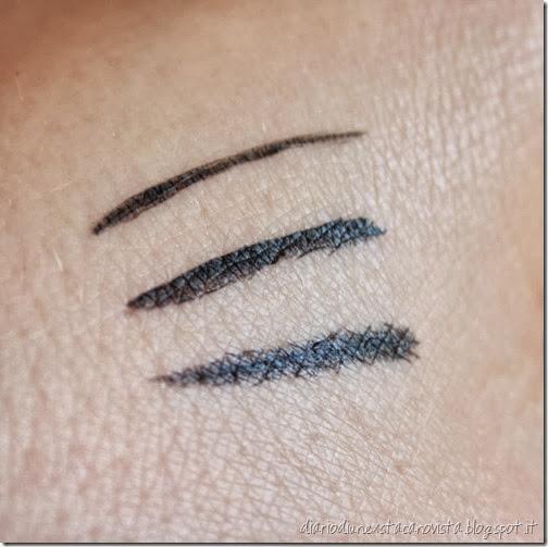 ysl eyeliner effet faux cils shocking swatch