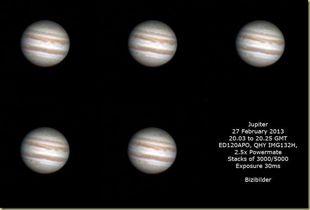 27 February 2013 Jupiter