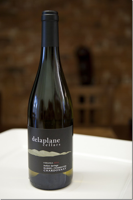 2010 Delaplane Cellars Virginia Indian Springs Barrel Fermented Chardonnay-1