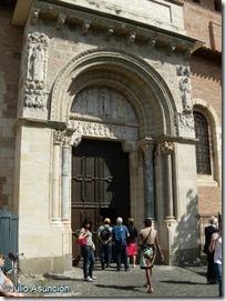 Puerta Miégeville - Basílica de Saint Cernin - Toulouse