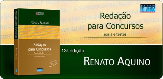 25 - Redação para concursos - Teoria e testes - Renato Aquino