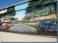 3896 Ohio - Delphos, OH - Lincoln Highway (5th St at Main St) - mural