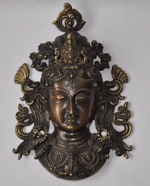 Bronze Mask of Tara